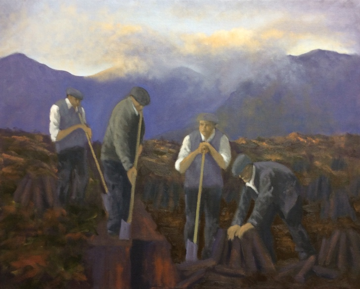 Sold - 'Cutting the turf'
