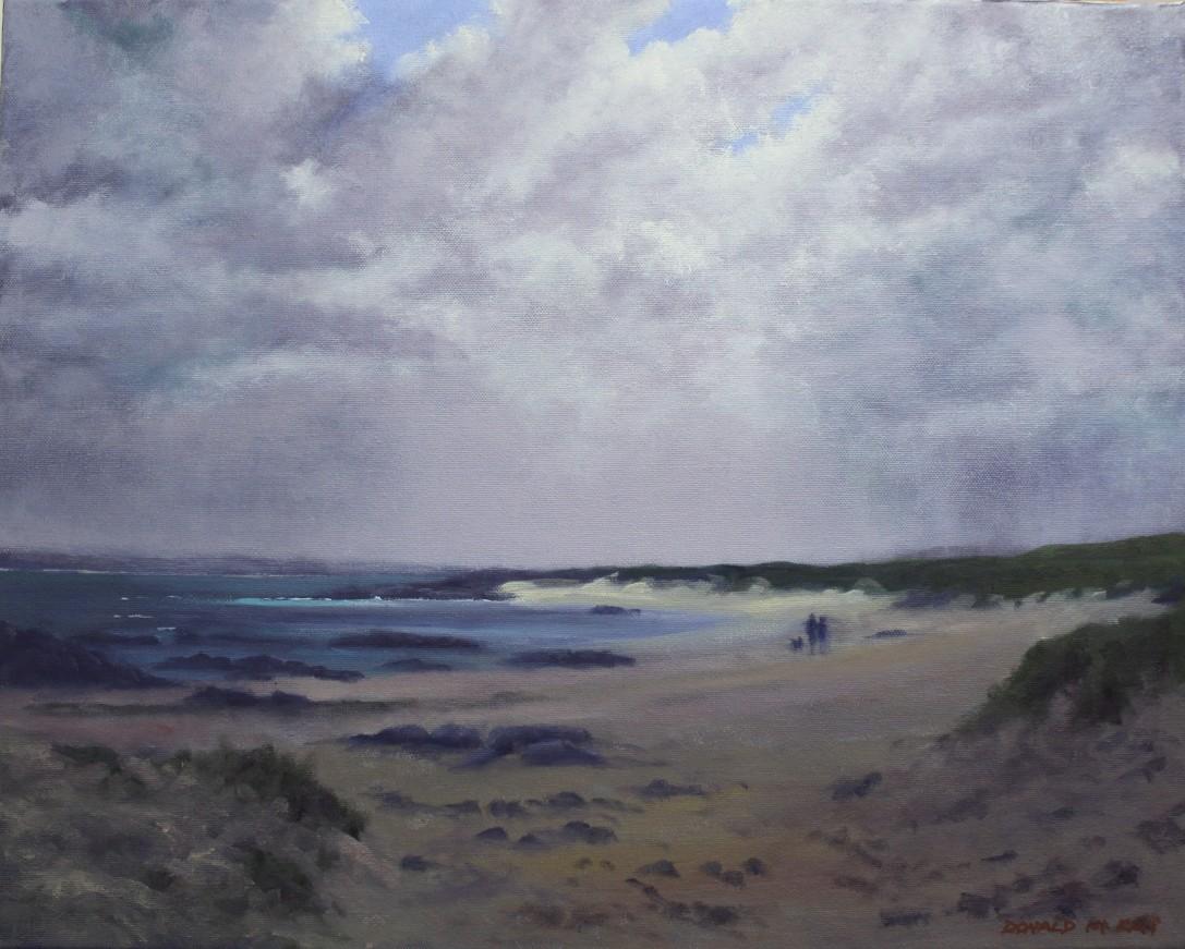 "'Mannin Bay', Connemara 16""x20"" oil on canvas"